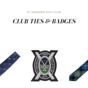 Club Ties & Badges